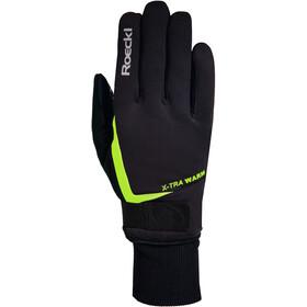 Roeckl Verbier Handskar black/yellow